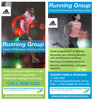 Central Performance Running Group in Surry Hills