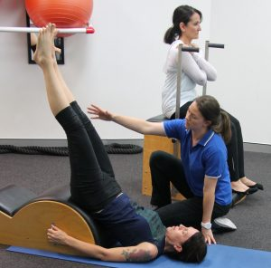 Clinical Pilates exercise classes