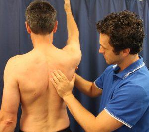 Shoulder scapular assessment
