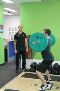 Pre-season strength training