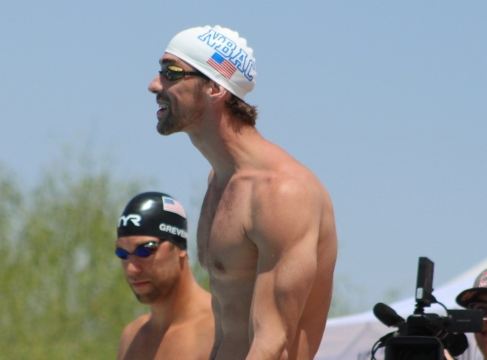 Rounded shoulder posture in swimmers.