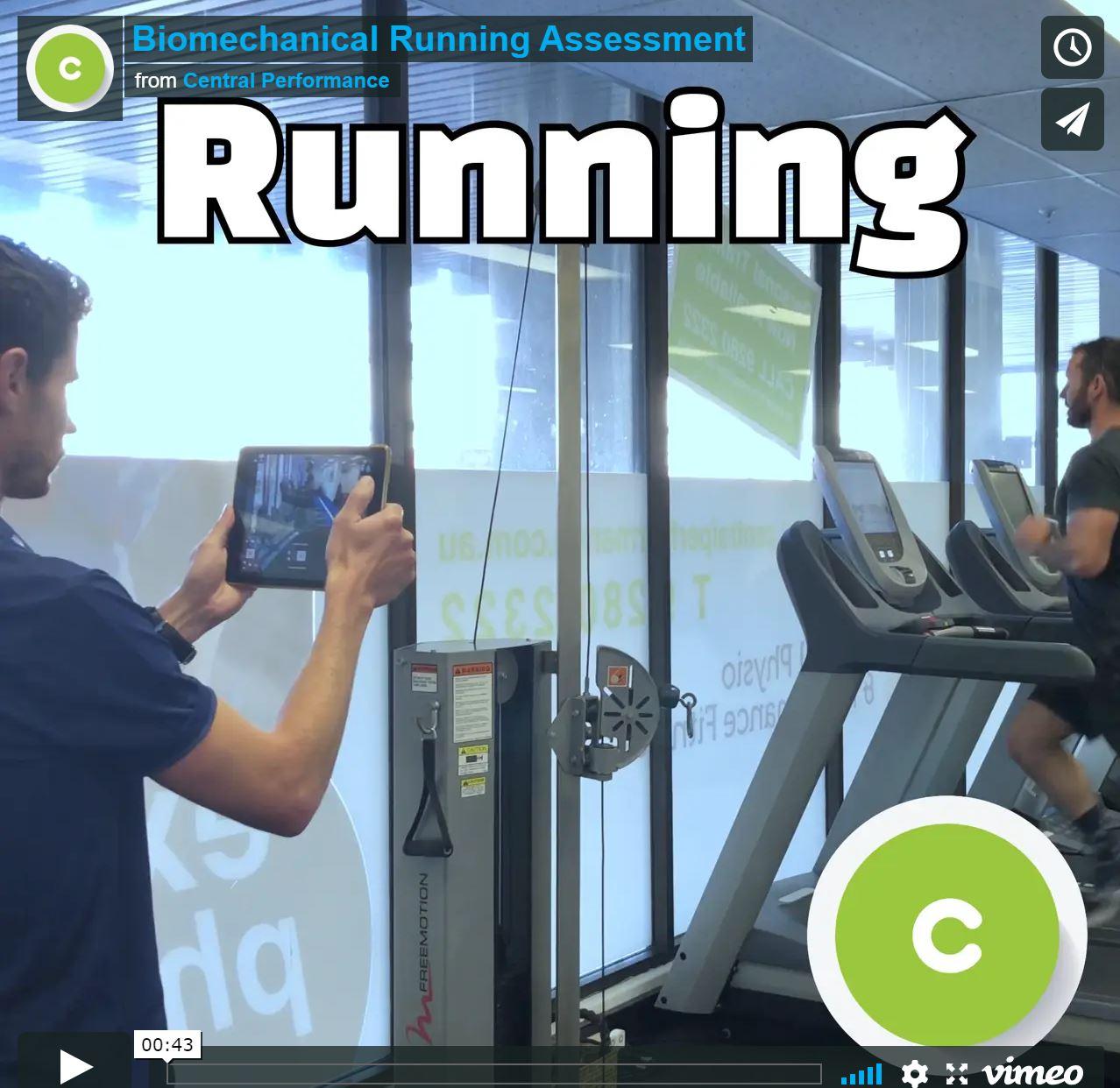 Running Assessment In Sydney